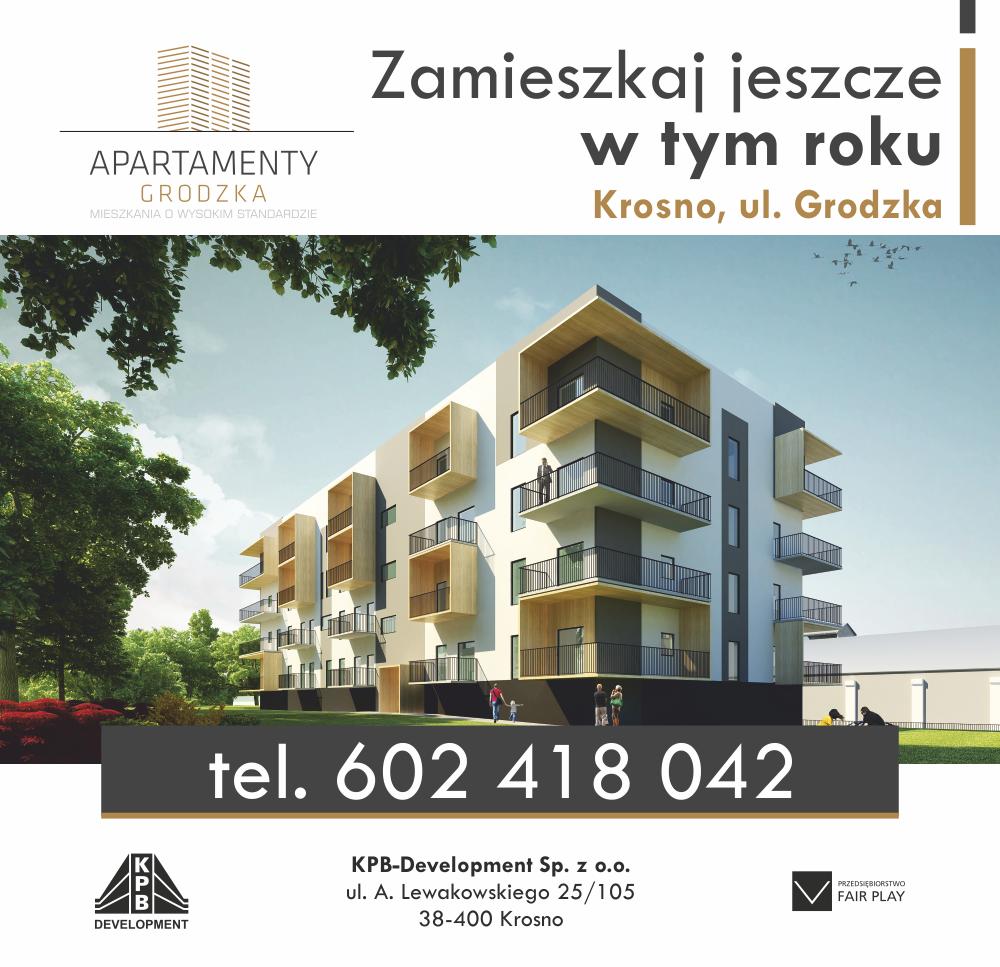 Nowe mieszkania Krosno - Apartamenty Grodzka